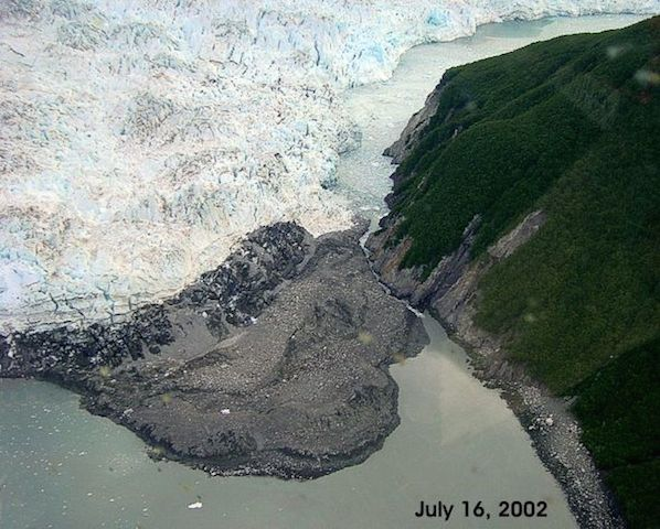 Hubbard Glacier Closure, photo 1